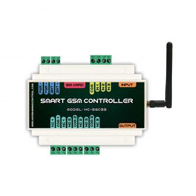 دستگاه کنترل از راه دور صنعتی 3 خروجی 3 ورودی - تجهیزات هوشمند سازی ساختمان - خانه هوشمند | اس-ام-اس-کنترلر